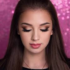 now when you know all nuances of eye makeup you can make small eyes look bigger with makeup putting the theory into practice