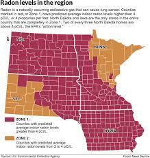 Radon Zone Map Casselton Woman Dies From High Levels Of Radon News