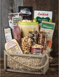 nuts gift basket stew s wow gourmet gift basket with meat cheese and nuts
