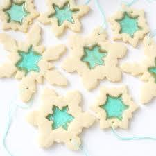 snowflake cookies snowflake window cookies recipe tastemade