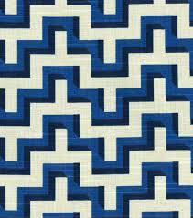 hgtv home home decor print fabric jigsaw lapis joann