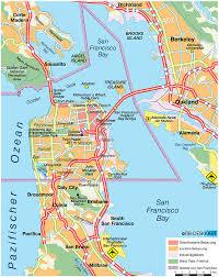 Bay Area Map San Francisco Map And San Francisco Satellite Image