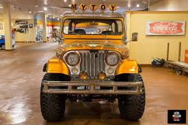 jeep orange classic 1977 jeep cj7 off road for sale 1712 dyler