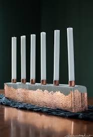 diy cement u0026 copper candle centerpiece u2013 aran sweaters direct
