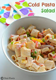 Cold Pasta Salad Recipe Cold Pasta Salad With 1000 Island Dressing Pasta Salad With