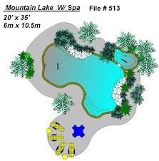 Mountain Lake Pool Design by 513 Mountain Lake Mountain Lake Pool Plan