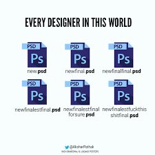 Meme Design - 27 funny posters and charts that graphic designers will relate to