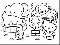 great hello kitty printable coloring pages with kitty coloring