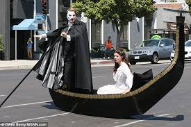 Phantom Opera Christine Halloween Costume James Corden Dons Mask Belts Phantom Opera Songs