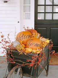 Pictures Of Front Porches Decorated For Fall - front porch fall decor lori u0027s favorite things