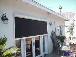 Patio Roll Down Shades Outdoor Patio Roller Popular Exterior Roller Shades House Exteriors