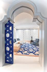 zellige inspired white and blue moroccan decor middle eastern
