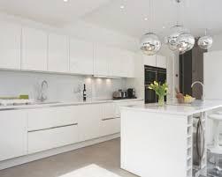 Shiny White Kitchen Cabinets Gloss White Kitchen Doors White And Grey Gloss Kitchen High With