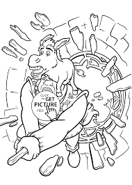 donkey coloring pages kids printable free