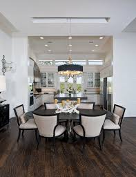 uttermost for a transitional dining room with a open floor plan