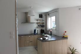 cuisine carré maison neuve nouveau chantier mètre carré à brax lot et garonne