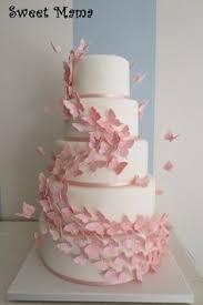 butterfly wedding cake by pretty cakes of london cake art