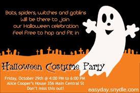 halloween party invitation wording dancemomsinfo com