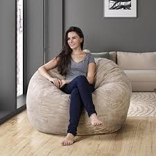 Where Can I Buy Bean Bag Chairs Amazon Com Original Panda Sleep Xl Bean Bag In Comfort Suede