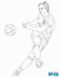 soccer players coloring pages voetbal soccer