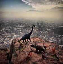 Travel Photography images Travel photos are instantly better with dinosaur toys bored panda jpg