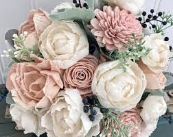 flowers for wedding sola wood flower bouquets and bits of by thepaisleymoon