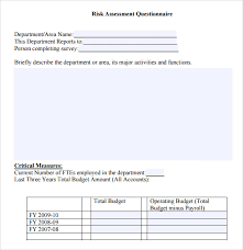 sample it risk assessment template 12 free documents in pdf
