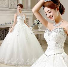 bargain wedding dresses 2015 gown luxury sweetheart high low modest wedding
