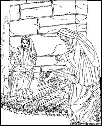 The Three Wise Men Wise Worship Coloring Page