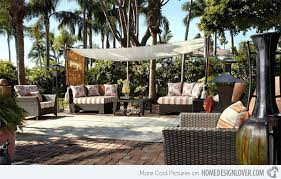 Outdoor Spaces Design - 15 cozy outdoor spaces with fabric canopy home design lover