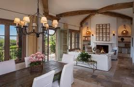 Living Room Design Exposed Beam Living Room Italian Style