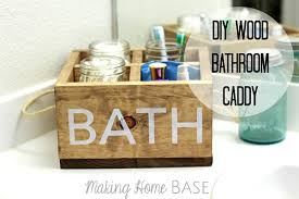 bathroom caddy ideas space saving diy bathroom storage ideas