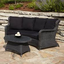 Outdoor Sofa Table by Sofas Center Wicker Outdoor Sofa Tableswicker Clearancebrown