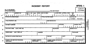 generic incident report template free printable report template form generic