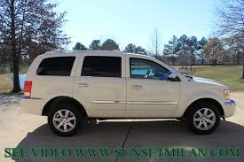 hd video 2007 chrysler aspen limited hemi tv dvd used for sale see