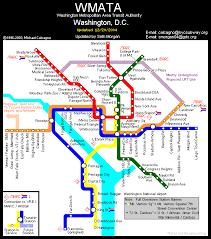 washington subway map nycsubway org washington d c