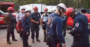 area tech rescue teams participate in terrorism response exercise