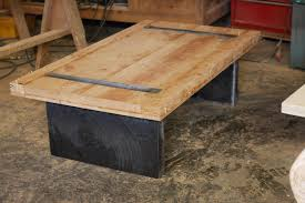 rustic coffee table legs is also a kind of metal wood with design