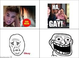 Hah Gay Meme - ragegenerator rage comic ha gay