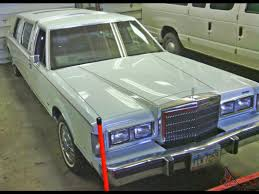 Old Lincoln Town Car Lincoln Town Car Limousine 4 Door 5 0l