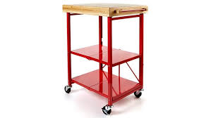 folding island kitchen cart origami folding kitchen island cart with casters