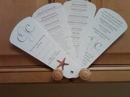 wedding program fan wording keelee s sle wedding program wording