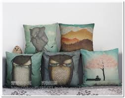 Home Decor Pillows Owl Pillows Pillow Suggestions With More Than 1500 Different