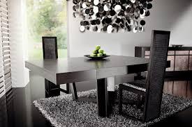 modern black dining room sets black and silver dining room set classy design stylish design