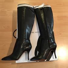 s boots nine 72 nine shoes nib nine getta wide calf leather