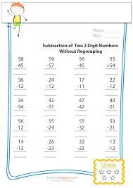 59 best subtraction practice worksheets images on pinterest cool