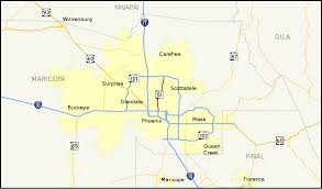 Arizona Maps by Arizona State Route 51 Wikipedia