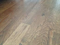 scraped solid oak flooring on floor with selecting wood