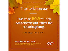 stats thanksgiving travel to be busiest in 12 years says aaa