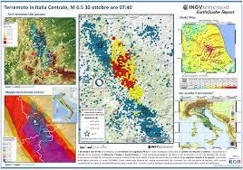 Norcia Italy Map Ingv Terremoti Sequenza Sismica Di Amatrice Norcia Visso
